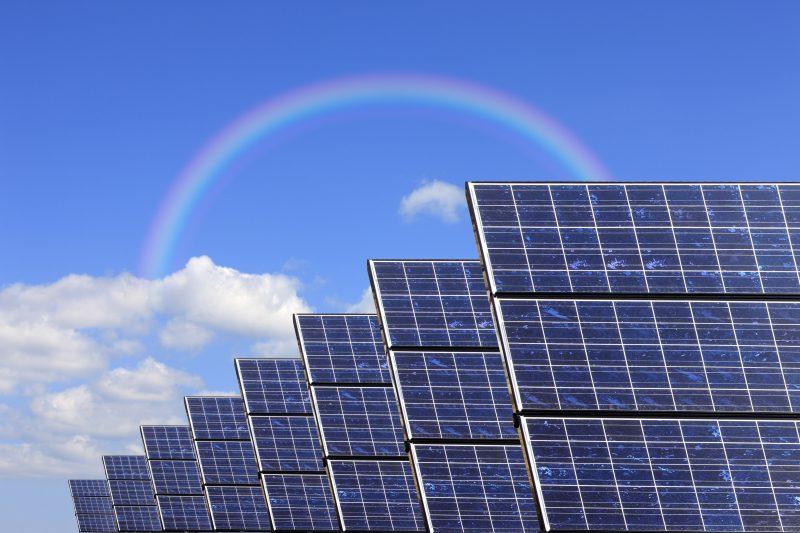 太陽光発電イメージ画像