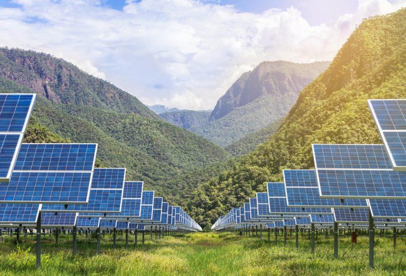 注目を集める太陽光発電所
